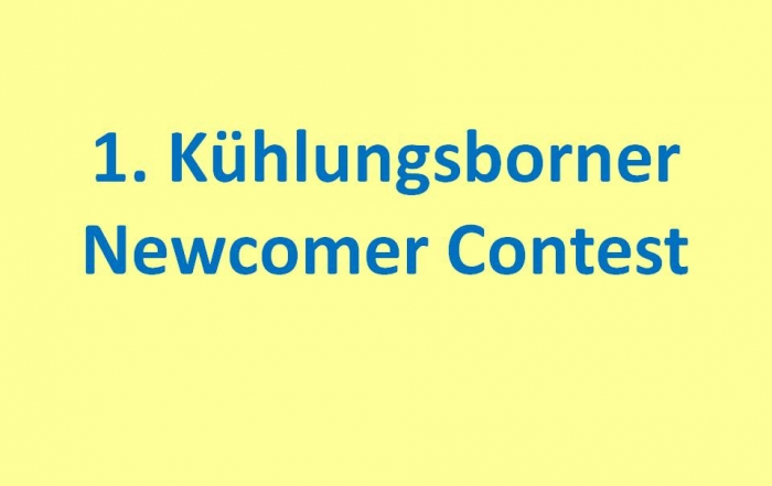 1. Kühlungsborner Newcomer Contest