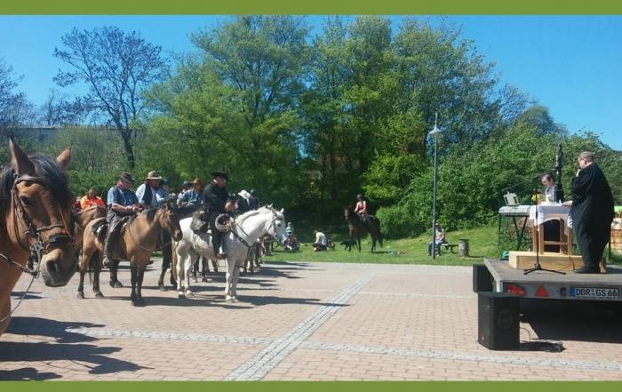 Reitergottesdienst in Kröpelin