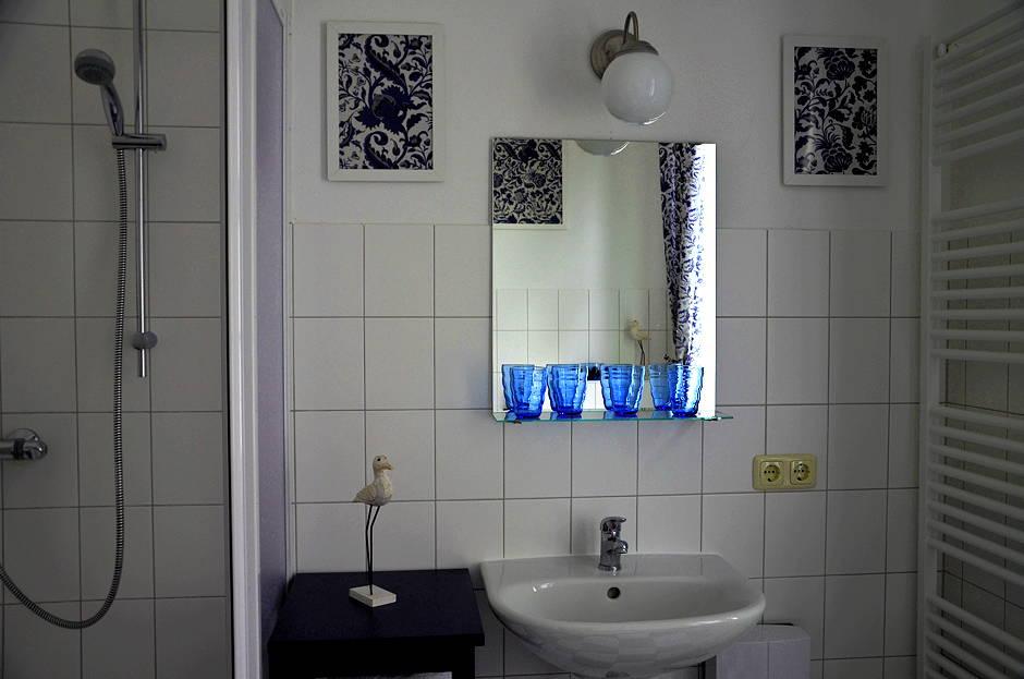 Familienfreundliche Ferienwohnung Badezimmer